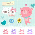CUKI Theme Spinning Happy Bear