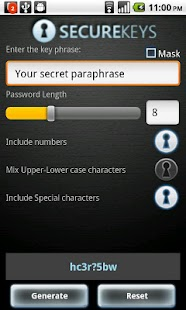 Securekeys - screenshot thumbnail