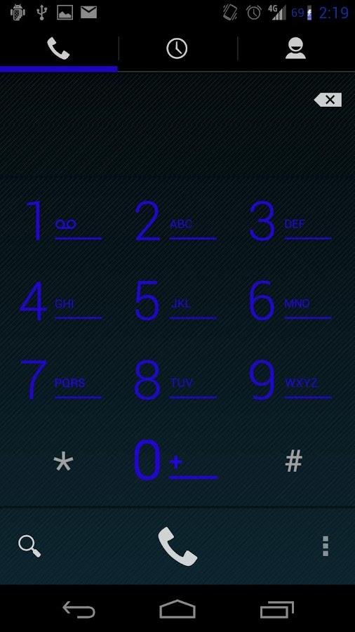 AOKP CM10.1 CM9 CoolRoyl Theme- screenshot