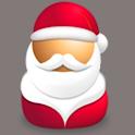 Shh! Secret Santa logo