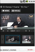 Screenshot of Kur'an tv