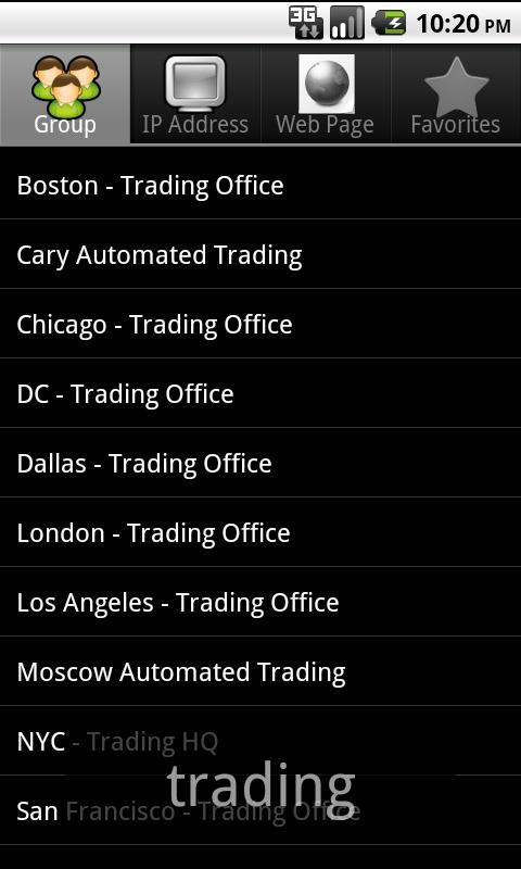 OPNET AppResponse Xpert - screenshot