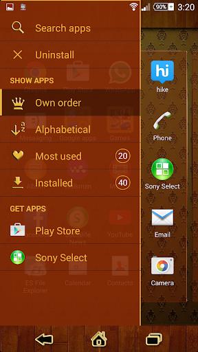 【免費個人化App】Theme eXPERIAnz SSP™ - Vintage-APP點子