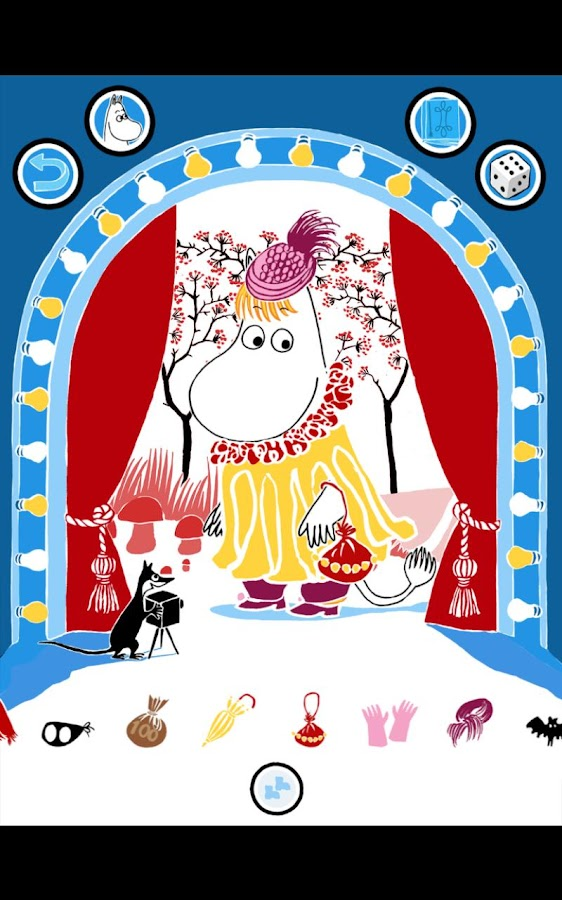 Moomin Costume Party- screenshot
