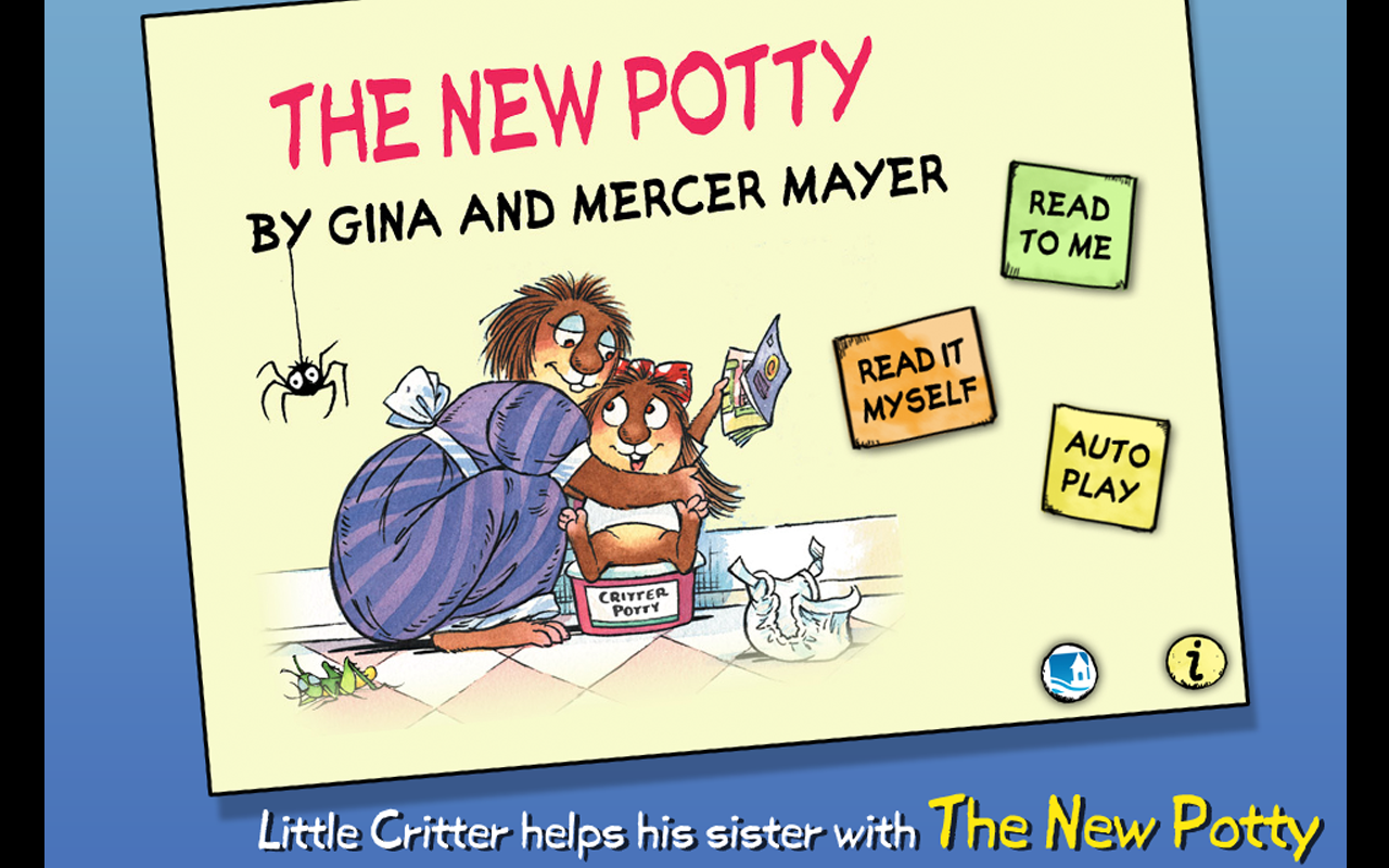 The New Potty - Little Critter- screenshot