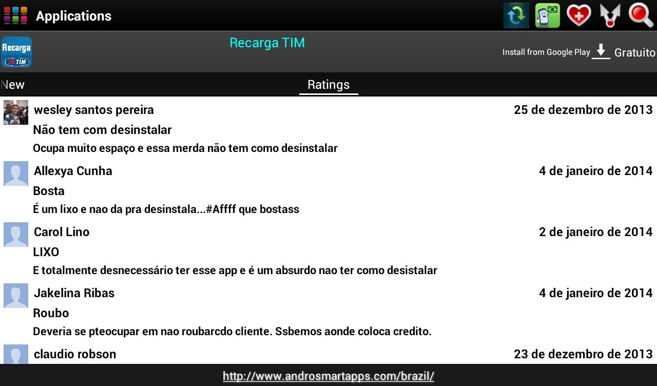 Brazil Android - screenshot