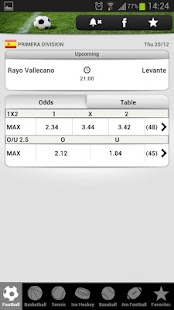 betscores®  live scores & odds - screenshot thumbnail