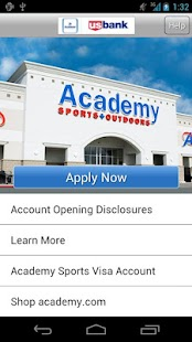 Academy Sports + Outdoors Visa - screenshot thumbnail