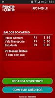 Screenshot of Ponto Certo Bilhete Unico