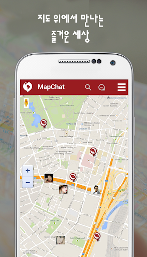MapChat-LITE - chat on the map
