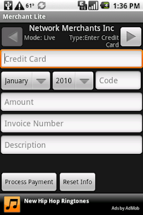 Credit Card Swiper- screenshot thumbnail