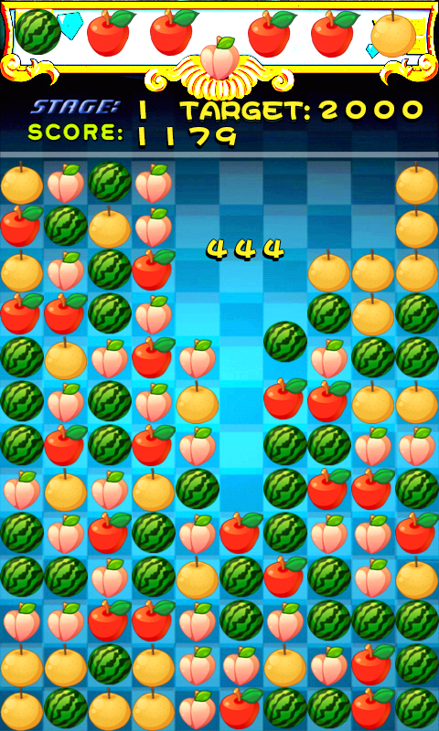 Pop fruit - screenshot