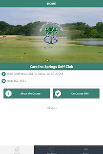 Carolina Springs Golf Center screenshot 1