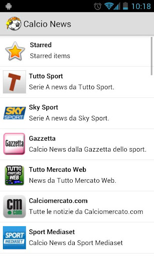 Calcio News
