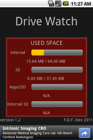 Drive Watch - screenshot