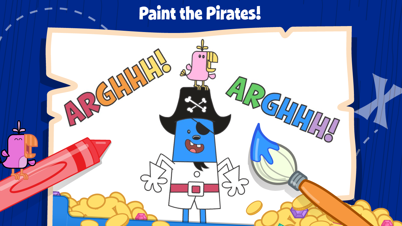 Wubbzy's Pirate Treasure- screenshot