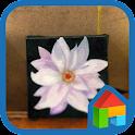 李作家の花の油絵ドドルランチャーのテーマ icon