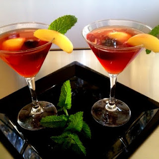 Minty Apricot Brandy Sour Recipe