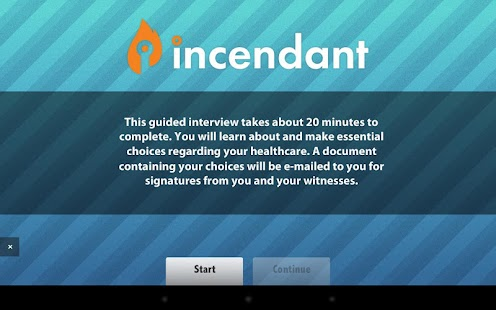Advance Directives - Incendant- screenshot thumbnail