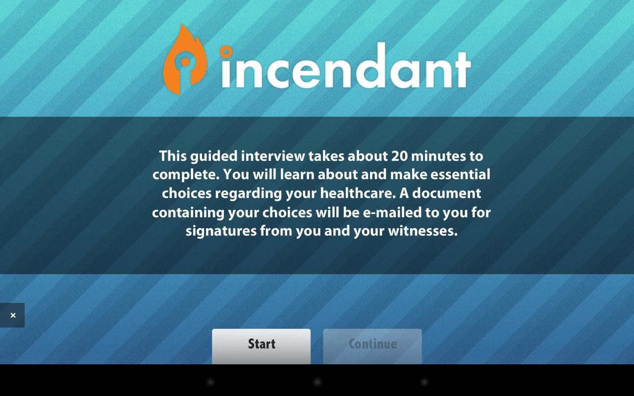 Advance Directives - Incendant- screenshot
