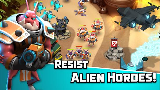 Alien Creeps TD screenshot