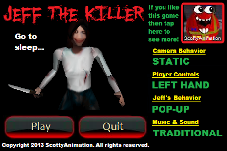 Slender Man: Jeff The Killer- screenshot thumbnail