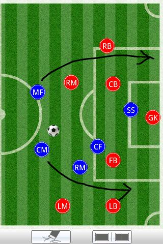 Soccer clipboard lite - screenshot
