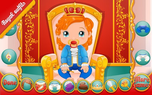 Royal Baby Shower:Bathing Game - screenshot thumbnail