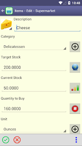 Perfect Shopping List screenshot 2