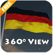 Real Germany Flag Live Wall