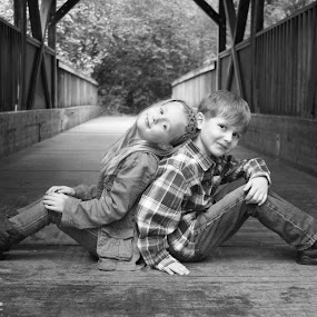 Best friends by Jenny Solberg Warfield - Babies & Children Child Portraits (  )