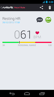 Runtastic Heart Rate - screenshot thumbnail