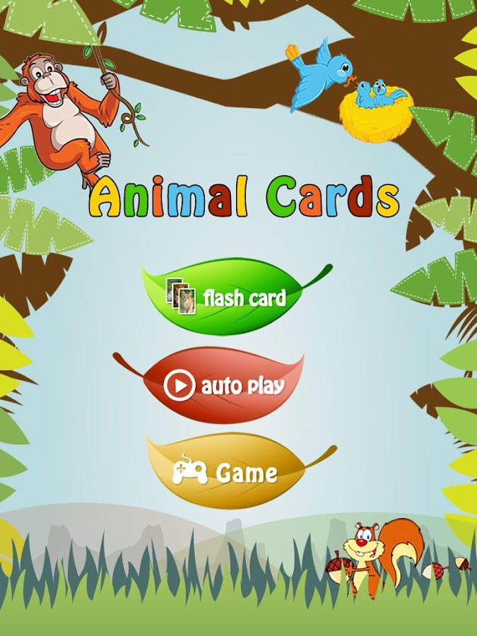 Baby Learning Card - Animal- screenshot