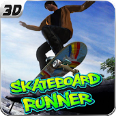 Super SkateBoard Runner 3D