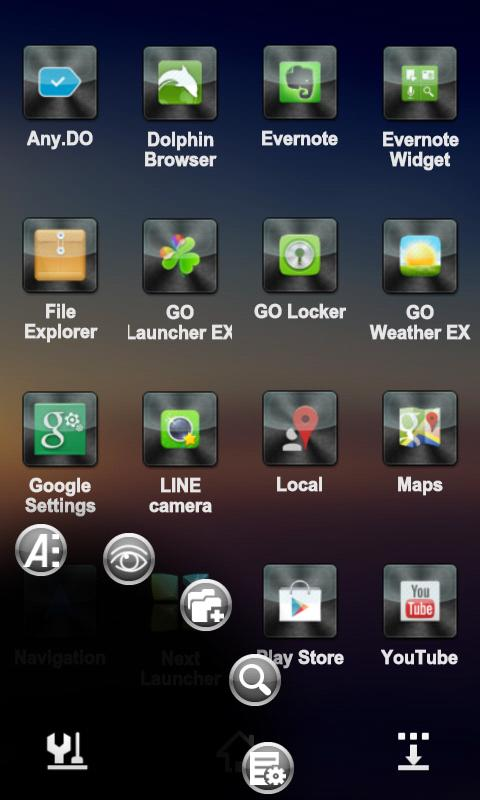 Drock Next Launcher 3D Theme- screenshot