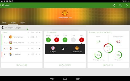 Onefootball Live Soccer Scores Screenshot 21