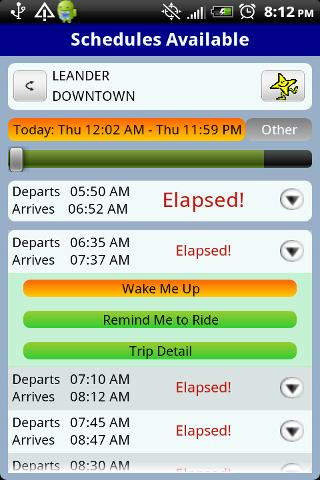 QikRide: Capital Metro Austin - screenshot