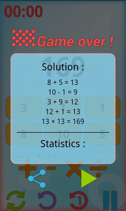 Counting - screenshot
