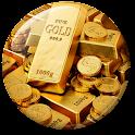 Gold Live Wallpaper icon