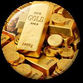 Gold Live Wallpaper