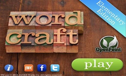 Word Craft EE- screenshot thumbnail
