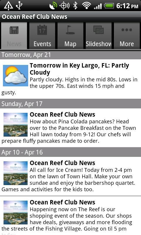 Ocean Reef Club - screenshot