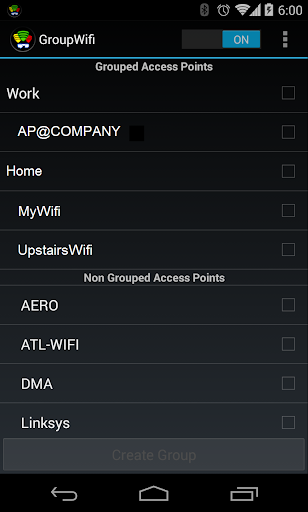 GroupWifi Connection Manager