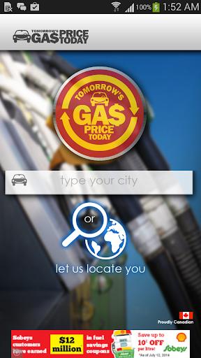 Tomorrow's Gas Price Today