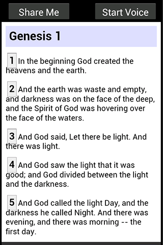 Darbys Translation Bible- screenshot