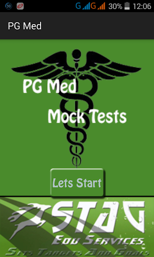 PG Med Mock Test