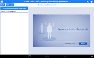 Screenshot of K12 EduCloud