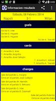Screenshot of Sports Scores