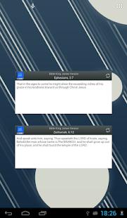 Bible King James Version screenshot