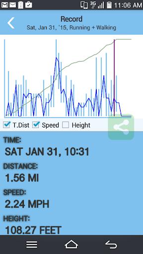 跑步 GPS - 速度與距離